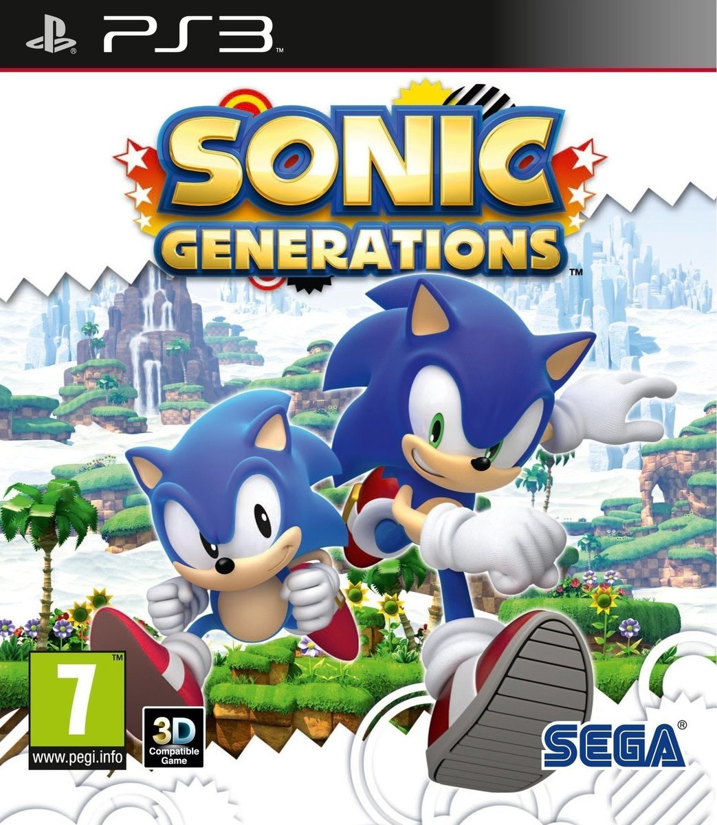 SONIC GENERATIONS PS3 - SEGA 1.14.01.14.002