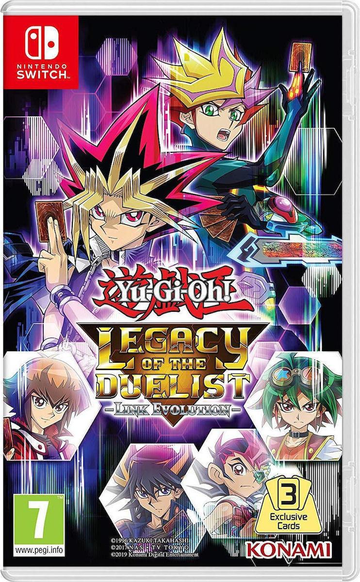 YGO! Legacy of the Duelist: Link Evolution Switch - KONAMI 1.10.07.01.000