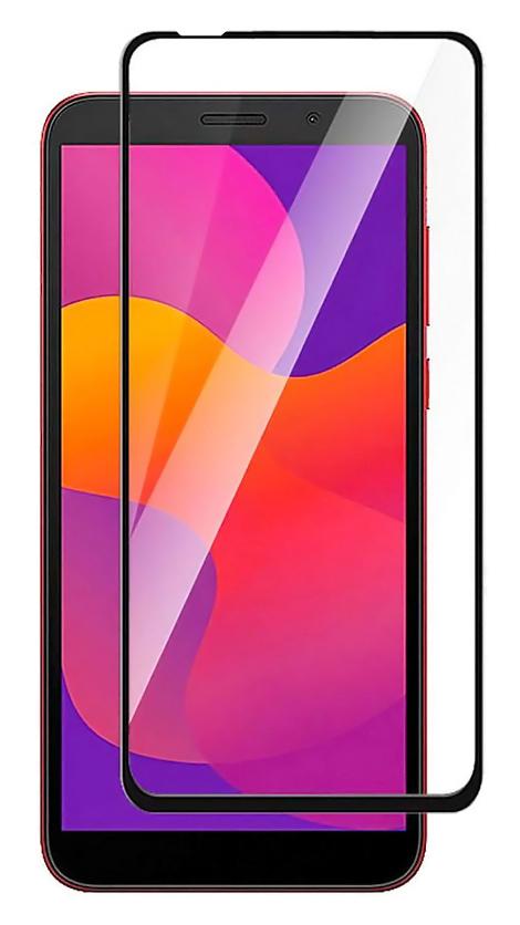 POWERTECH Tempered Glass 5D για Huawei P40 lite, full glue, μαύρο - POWERTECH 30221