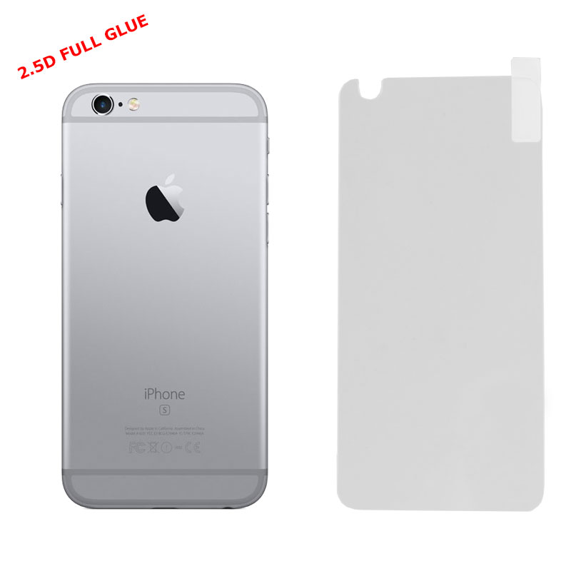 "IDOL 1991 TEMPERED GLASS IPHONE 6S/6 4.7"" 9H 0.25mm 2.5D FULL GLUE BACK WHITE"