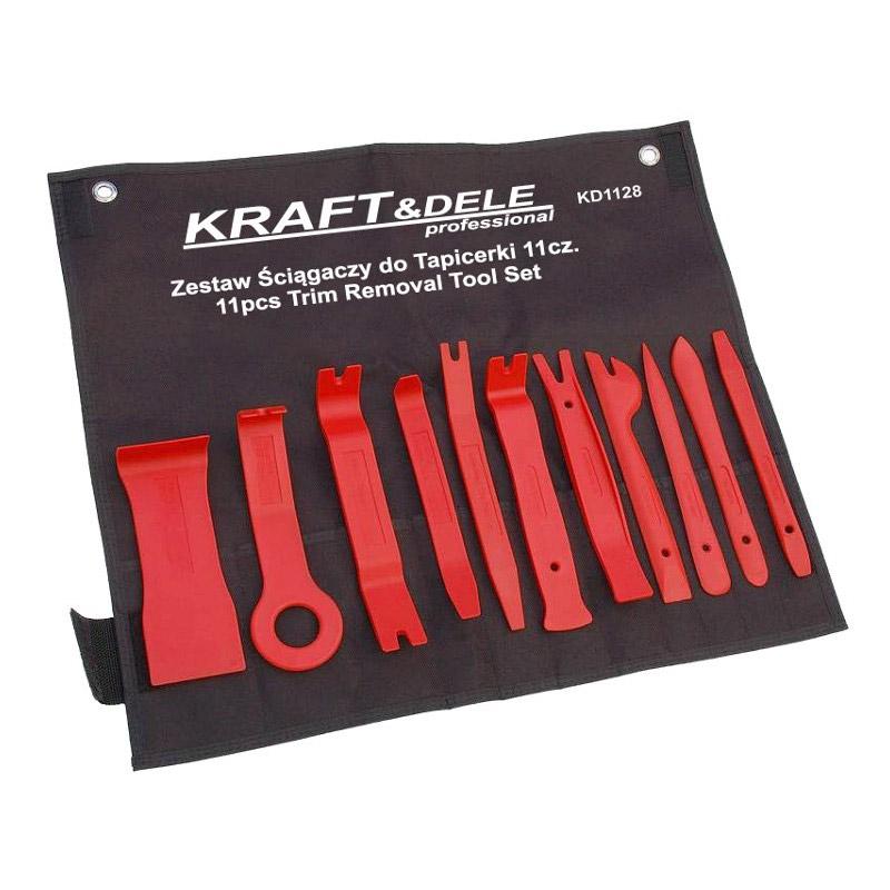 Σετ Εργαλεία Αφαίρεσης Ταπετσαρίας - Κλιπς Αυτοκινήτου 11 τμχ Kraft&Dele KD-1128 - KD-1128