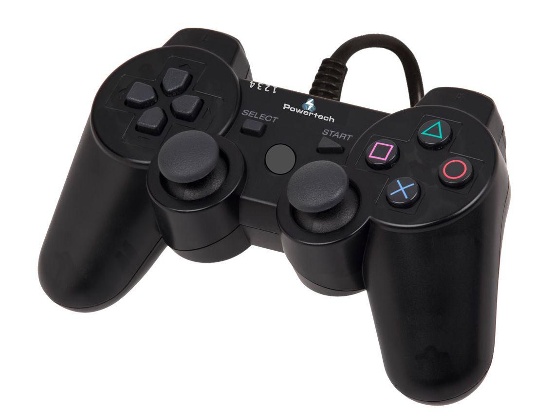 POWERTECH Gamepad 3 in 1, PC, PS2, PS3 - POWERTECH 5782