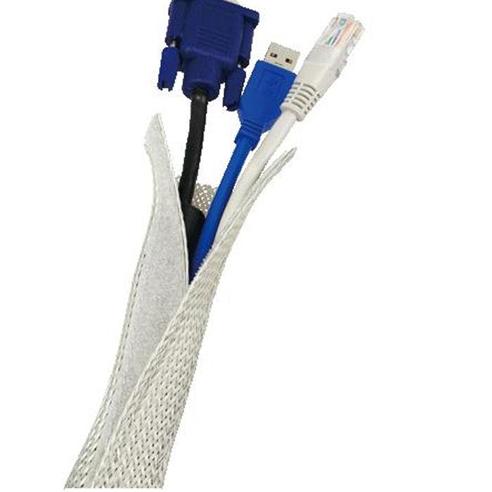 Cable FlexWrap 1,8m Logilink KAB0007 Grey - LOGILINK