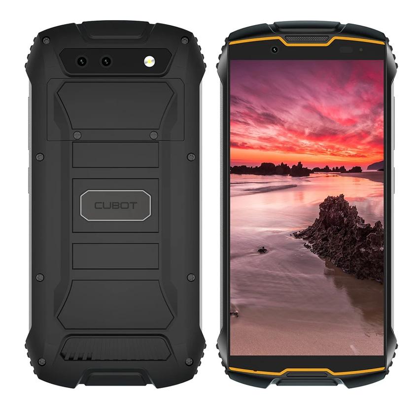 """CUBOT Smartphone King Kong Mini, 4"""" HD+, 3/32GB, Quad-Core, 13MP, μαύρο - CUBOT 31484"""