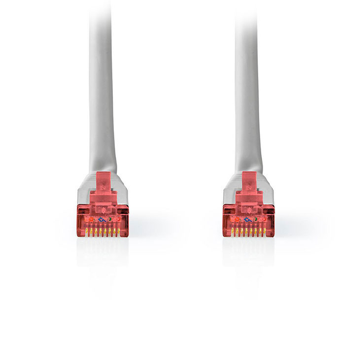 NEDIS CCGT85221GY50 Network Cable CAT6 S/FTP RJ45 Male RJ45 Male 5.0 m Grey