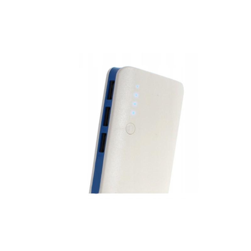 Power Bank 20000 mAh με 3 Θύρες USB Χρώματος Μπλε SPM 5901646281615-Blue