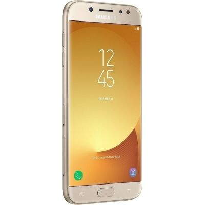 Samsung J5 2017 J530 Dual 16GB Gold EU (Δώρο Tempered Glass + Θήκη)