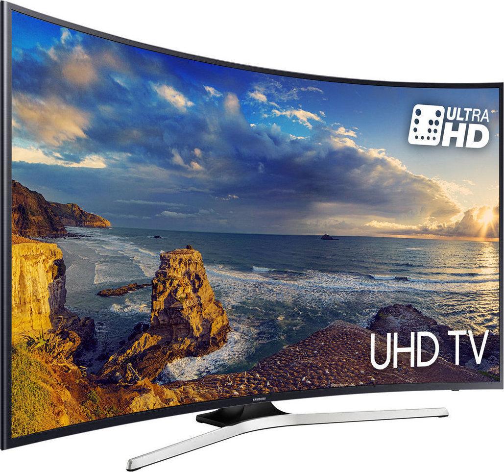 Samsung Smart TV 49'' 4K Curved UE49MU6202 Πληρωμή έως 12 δόσεις