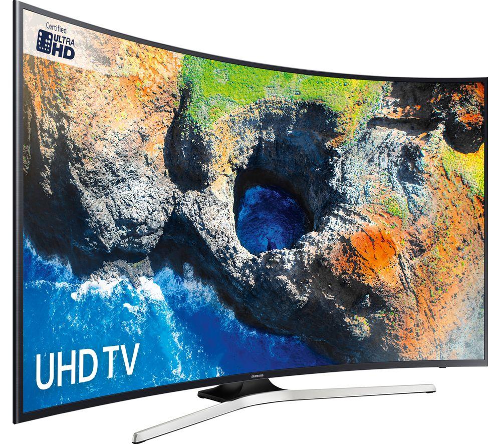 Samsung Smart TV 49'' 4K Curved UE49MU6220 Πληρωμή έως 24 δόσεις