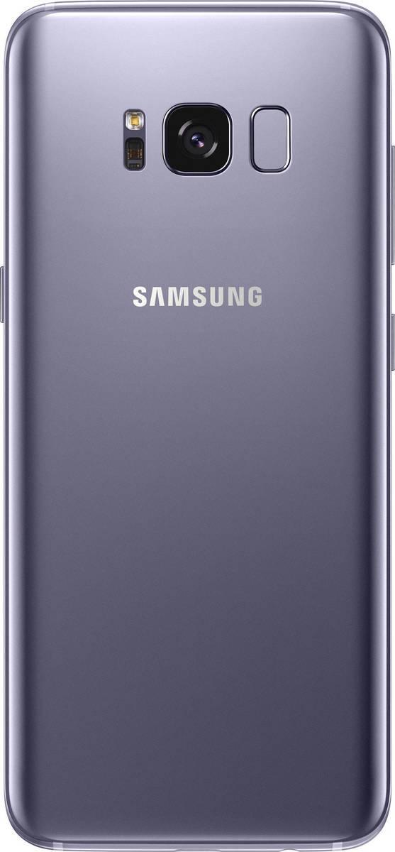 Samsung Galaxy S8 G950F Dual 64GB Orchid Grey (Δώρο Tempered Glass + Θήκη) Πληρωμή έως 12 δόσεις