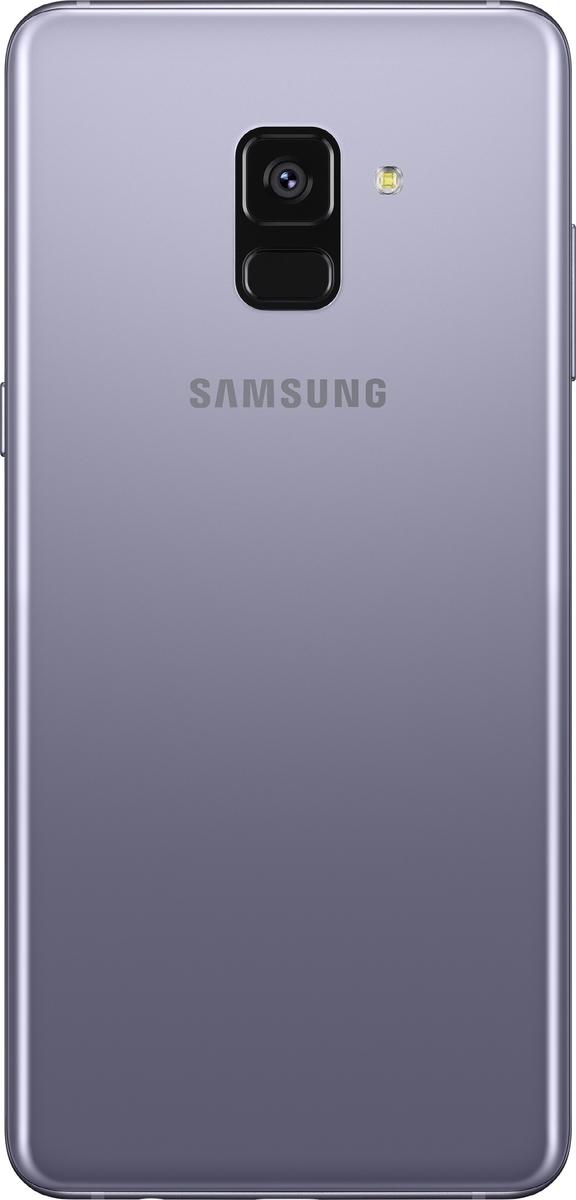 Samsung Galaxy A8 Plus 2018 A730 Dual 64GB Orchid Grey Πληρωμή έως 12 δόσεις