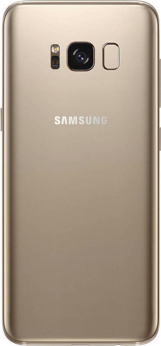 Samsung Galaxy S8 G950F Dual 64GB Maple Gold (Δώρο Tempered Glass + Θήκη) Πληρωμή έως 24 δόσεις