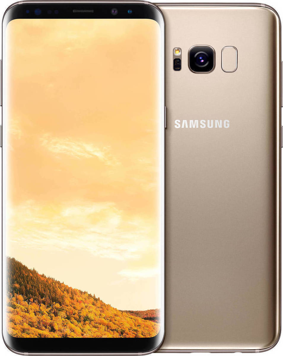 Samsung Galaxy S8 Plus G955 Dual 64GB Maple Gold  (Δώρο Tempered Glass + Θήκη) Πληρωμή έως 12 δόσεις