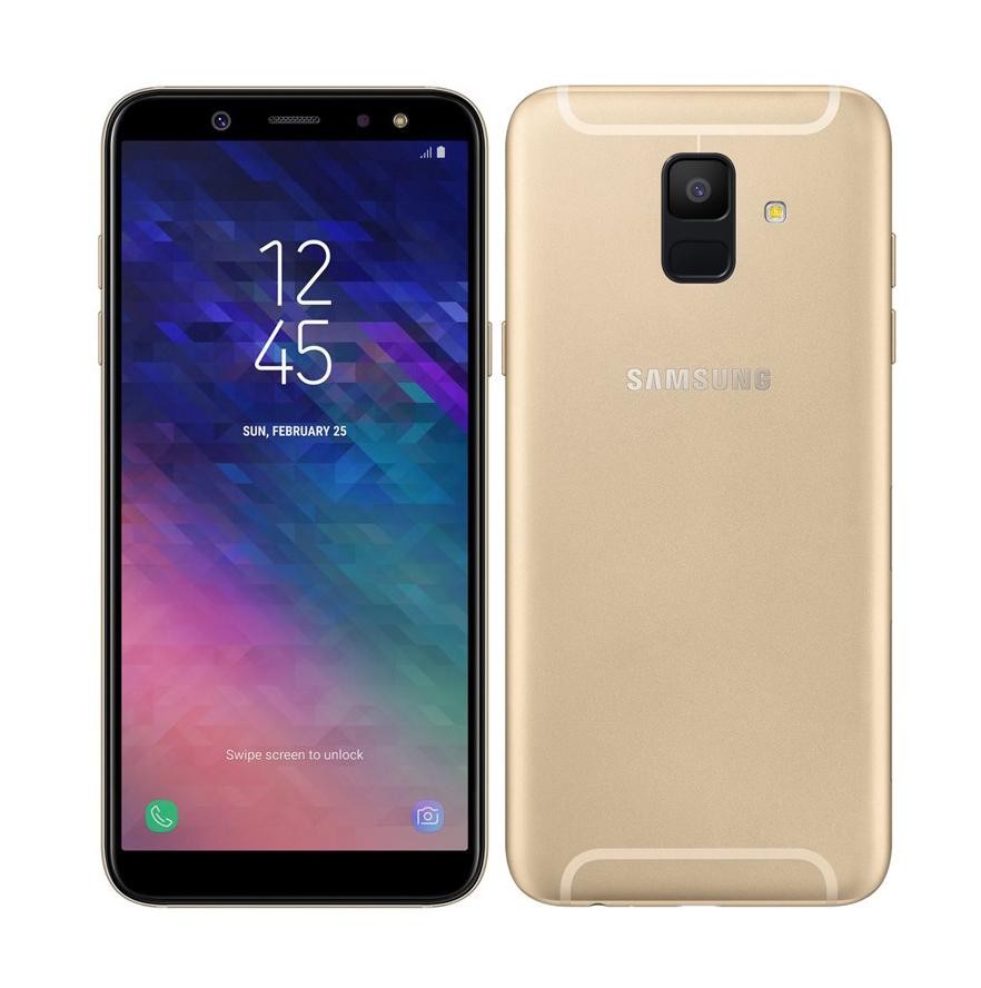 Samsung Galaxy A6 2018 A600 Dual 32GB Gold Πληρωμή έως 12 δόσεις