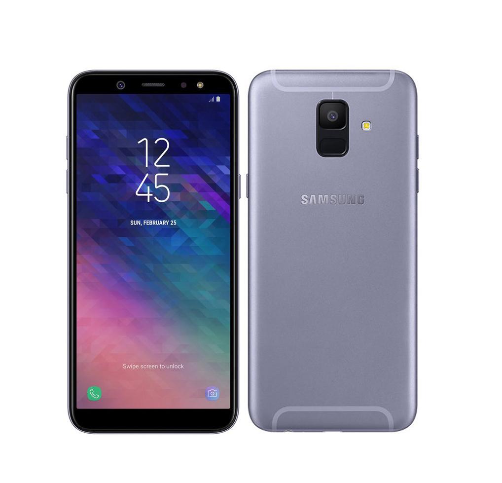 Samsung Galaxy A6 2018 A600 Dual 32GB Lavender Πληρωμή έως 12 δόσεις