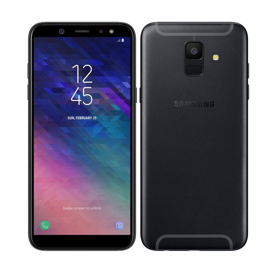 Samsung Galaxy A6 2018 A600 Dual 32GB Black Πληρωμή έως 12 δόσεις