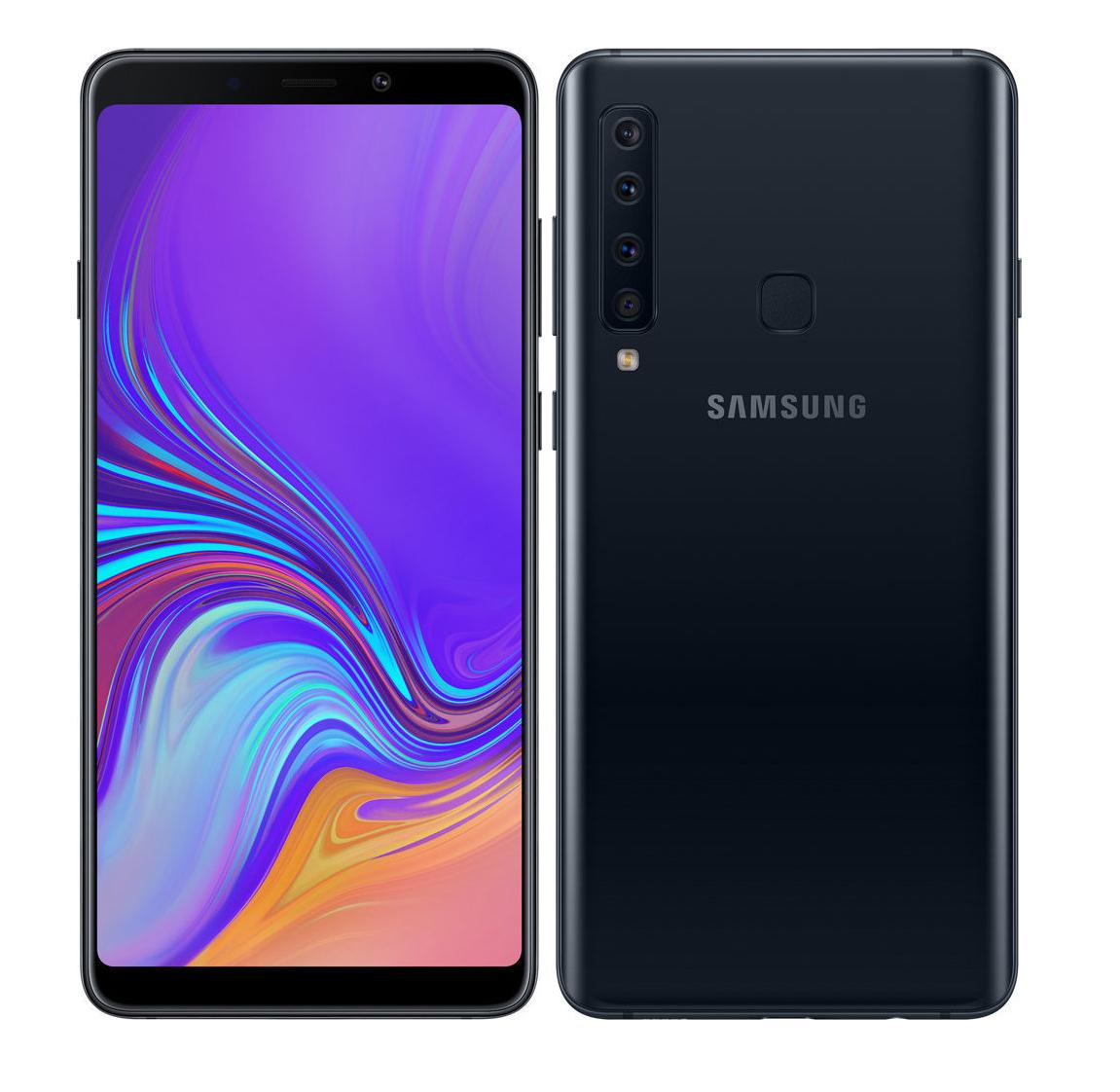 Samsung A9 2018 A920 Dual 128GB Black Πληρωμή έως 24 δόσεις