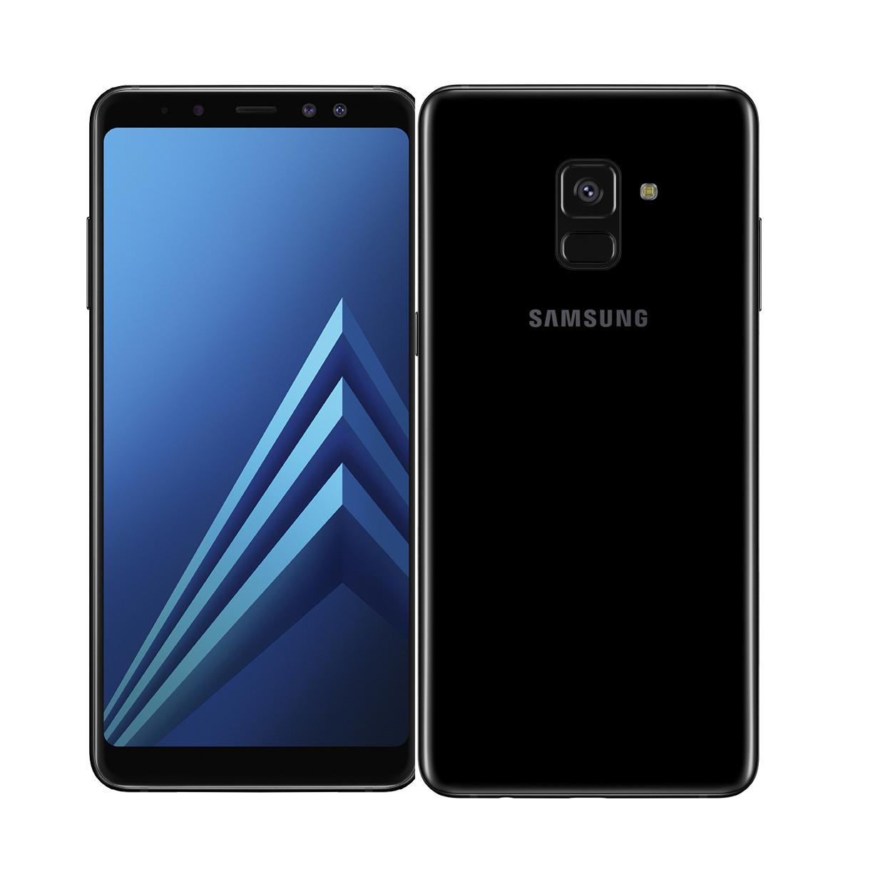 Samsung A8 2018 A530 Dual 32GB Black (Δώρο Tempered Glass + Θήκη) Πληρωμή έως 24 δόσεις
