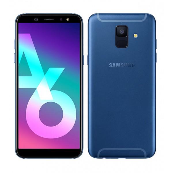Samsung Galaxy A6 2018 A600 Dual 64GB Blue (Δώρο Tempered Glass + Θήκη) Πληρωμή έως 24 δόσεις
