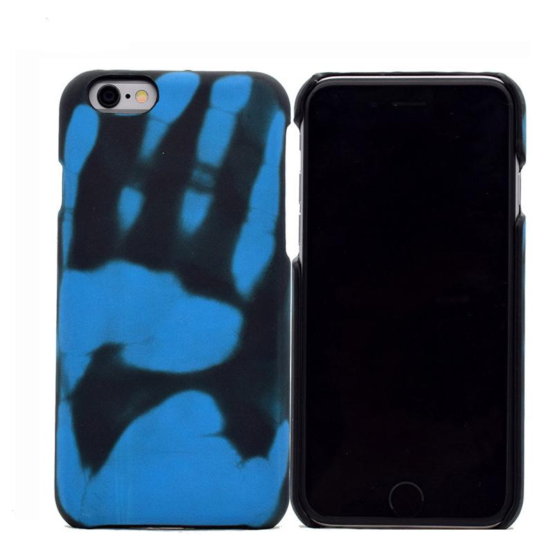 Θήκη TPU Thermal Sensor Αλλάζει χρώμα με την Θερμότητα για iPhone 7/8 - Μπλε