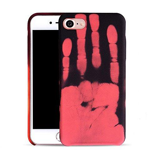 Θήκη TPU Thermal Sensor Αλλάζει χρώμα με την Θερμότητα για iPhone 7/8 - Κόκκινη