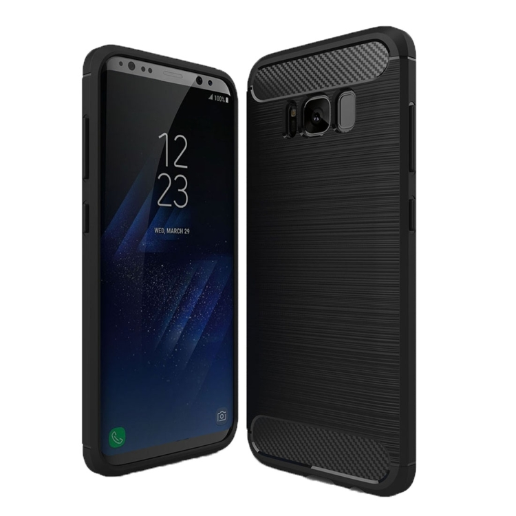 Θήκη Brushed Carbon Back Case για Samsung Galaxy S8 Plus