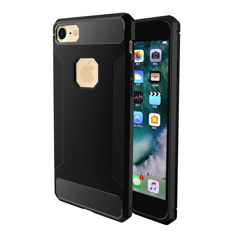 Θήκη Brushed Carbon Back Case για iPhone 7/8