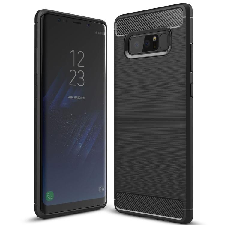 Θήκη Brushed Carbon Back Case για Samsung Galaxy Note 8