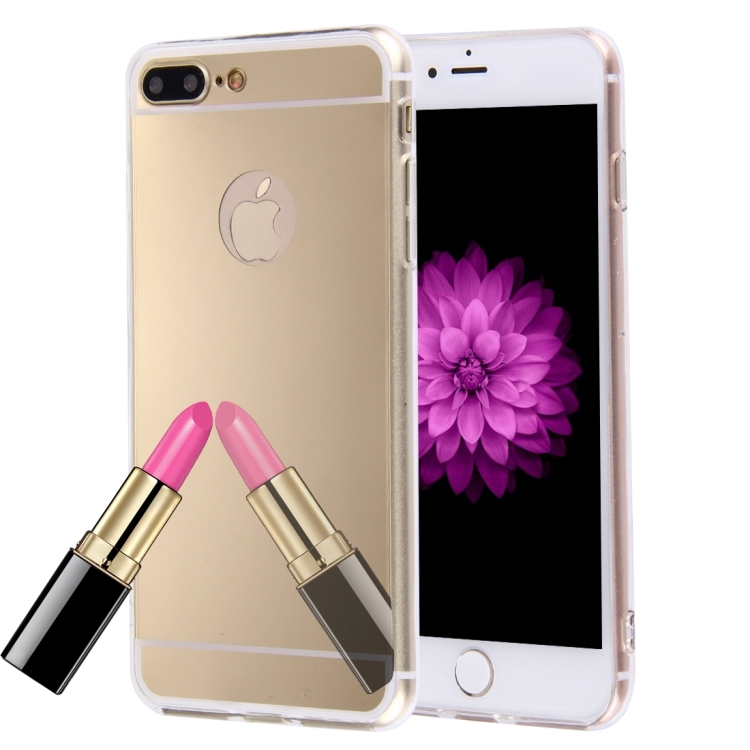 Θήκη Mirror Back Cover Case για iPhone 7/8 Plus - Gold