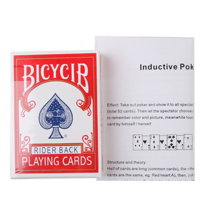 Magic Trick Toy - Atom Playing Card
