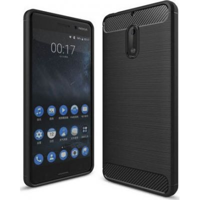 Θήκη Brushed Carbon Back Case για Nokia 8