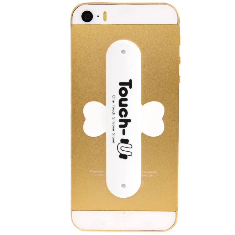 Touch-u One Βάση Στήριξης Σιλικόνης Κινητού White