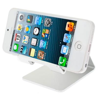 Επιτραπέζια Μεταλλική Βάση Στήριξης Για Tablet Aluminum Stand Desktop Holder Silver