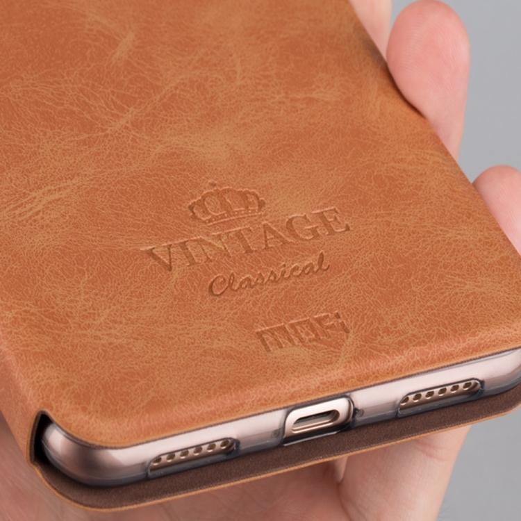 Θήκη Book MOFI Vintage Δερμάτινη για Xiaomi Mi Max 2 Καφέ
