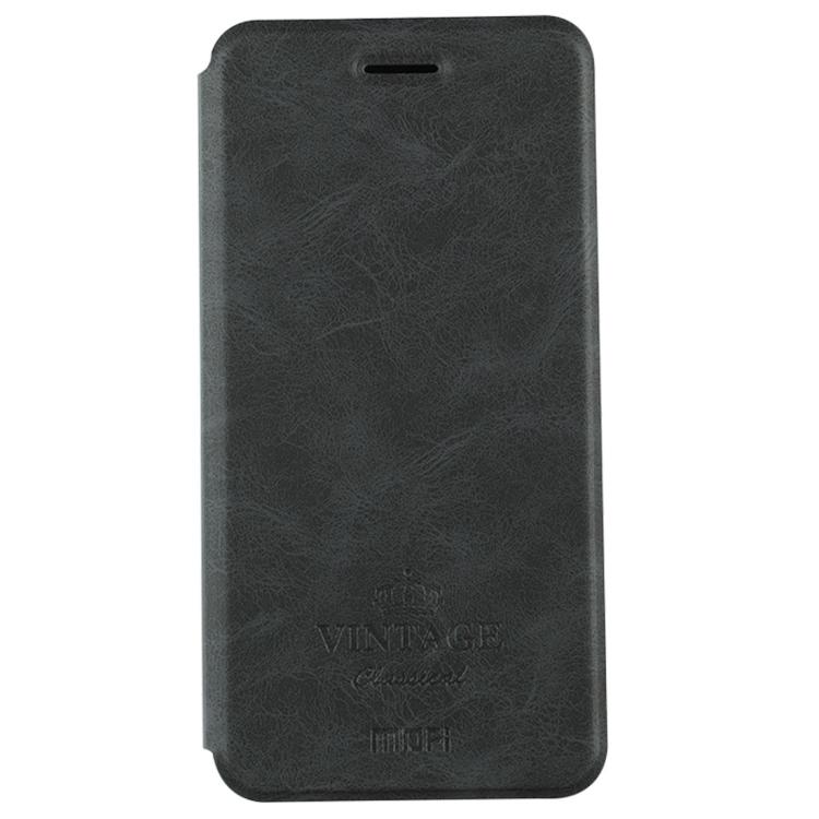 Θήκη Book MOFI Vintage Δερμάτινη για Xiaomi Redmi Note 5a Μαύρη
