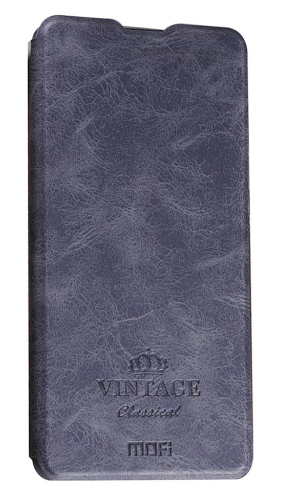 Θήκη Book MOFI Vintage Δερμάτινη για Xiaomi Mi Mix 2 Μαύρη