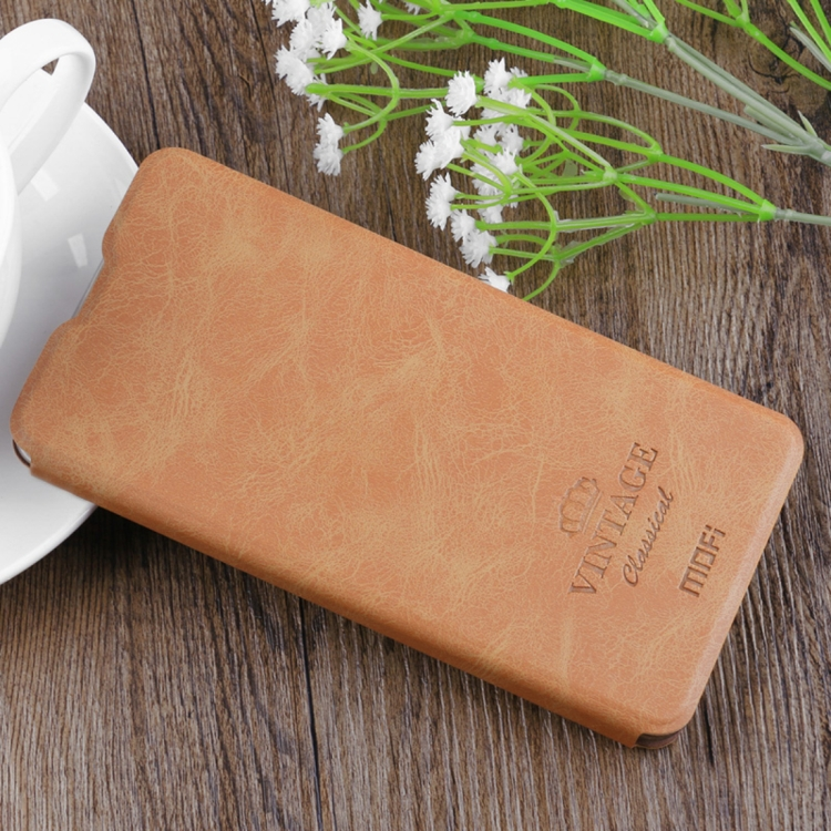 Θήκη Book MOFI Vintage Δερμάτινη για Xiaomi Mi Mix 2 Καφέ