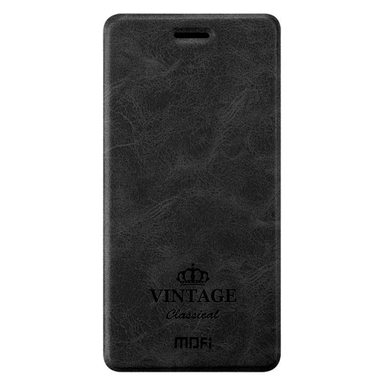 Θήκη Book MOFI Vintage Δερμάτινη για Xiaomi Redmi 5a Μαύρη