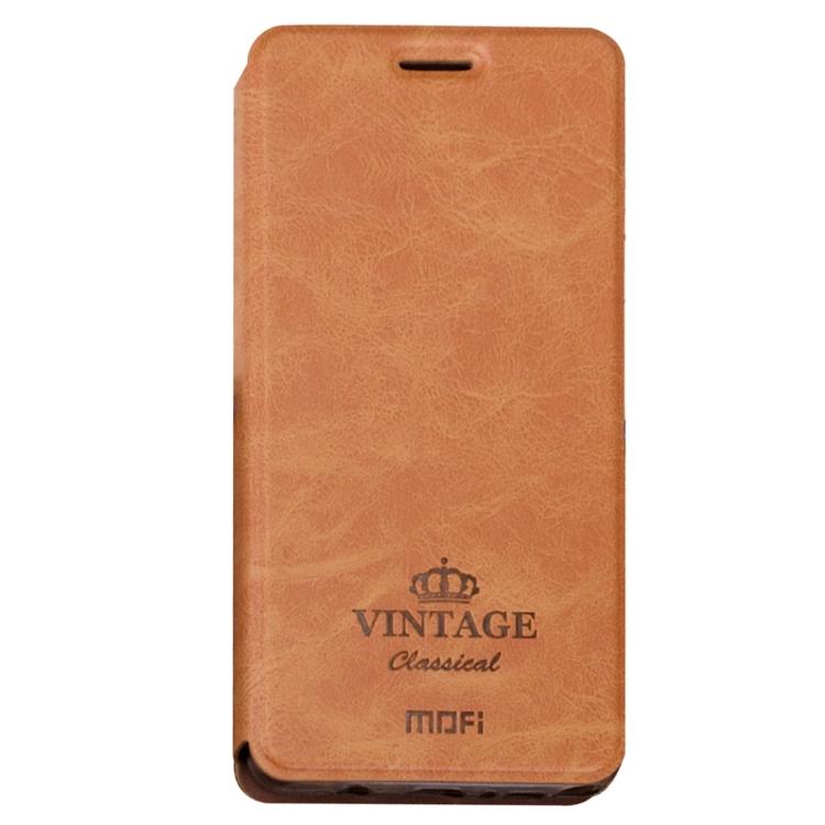 Θήκη Book MOFI Vintage Δερμάτινη για Xiaomi Redmi 5a Καφέ