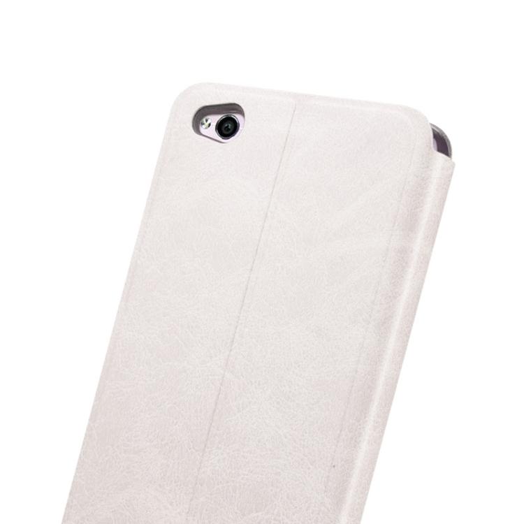 Θήκη Book MOFI Vintage Δερμάτινη για Xiaomi Redmi 4A Λευκή