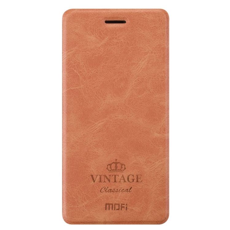 Θήκη Book MOFI Vintage Δερμάτινη για Xiaomi Redmi 4A Καφέ
