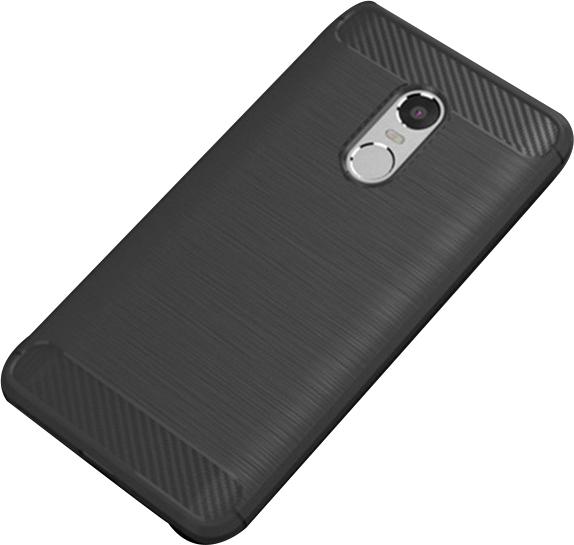 Θήκη Brushed Carbon Back Case για Xiaomi Redmi 5 Plus