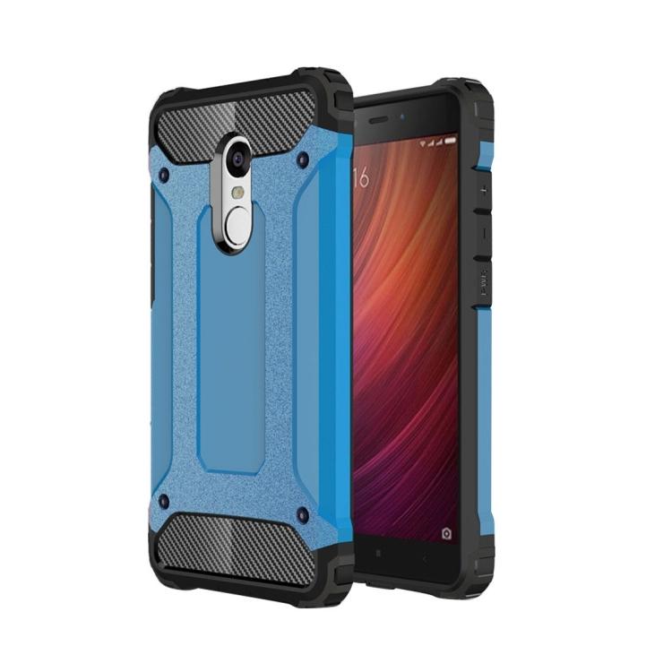 Θήκη Πολυανθρακική Tough Armor για Xiaomi Redmi Note 4 Μπλε