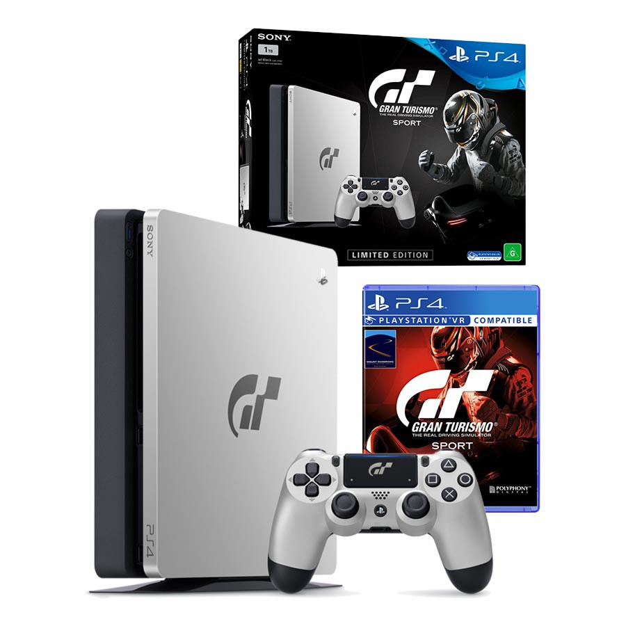 Sony Playstation 4 PS4 Slim 1TB GT Sport Special Edition & Gran Turismo Sport Πληρωμή έως 12 δόσεις