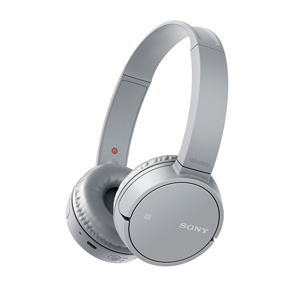 Sony MDR-ZX220BT On-Ear Bluetooth Headphones Grey