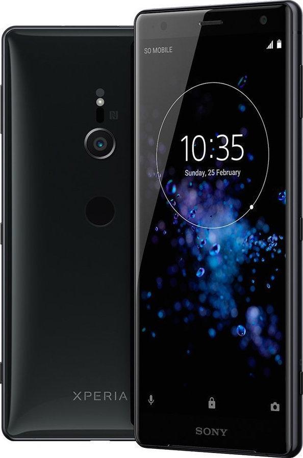 Sony Xperia XZ2 H8324 Dual 64GB Black Πληρωμή έως 12 δόσεις
