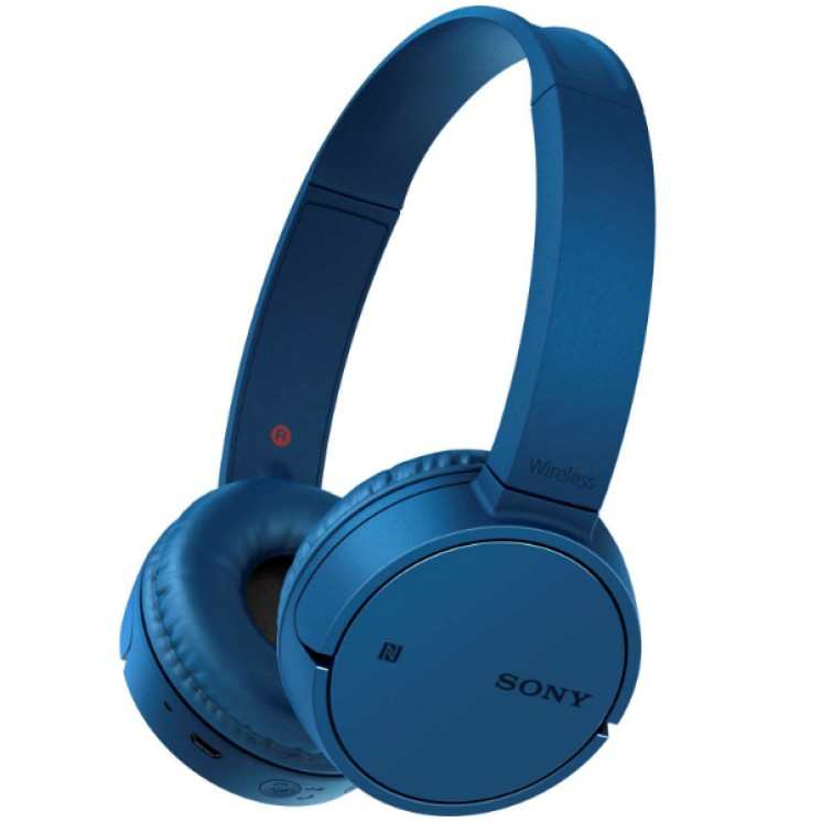 Sony MDR-ZX220BT On-Ear Bluetooth Headphones Blue