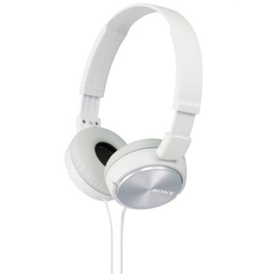 Sony MDR-ZX310 On-Ear Headphones White