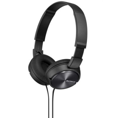 Sony MDR-ZX310 On-Ear Headphones Black