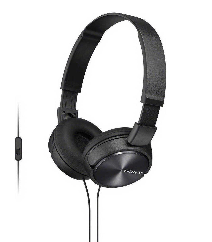 Sony MDR-ZX310APB On-Ear Headphones Black